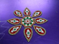 Stylish Acrylic Rangoli