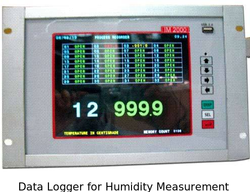 Data Logger for Humidity Measurement