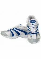 Lotto White & Blue Sports Shoes