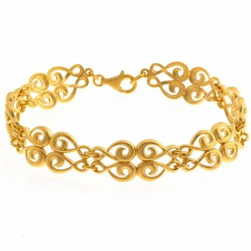 Fancy Gold Bracelets फ स ब र सल ट