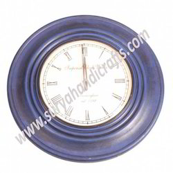 Clock Dark Blue