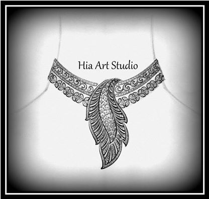 Diamond jewellery sketch design designs manufacturer for Learn to draw jewelry