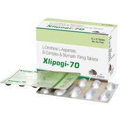 Lo Ornithine L-Aspratate B-Complex & Silymarin 70 mg Tablets