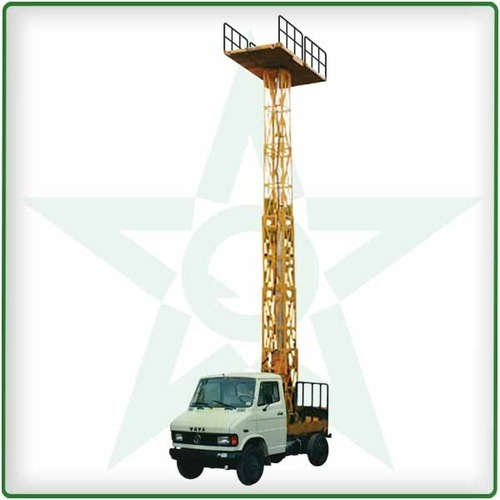 Vanjax Cast Iron Truck Mounted Aerial Work Platform