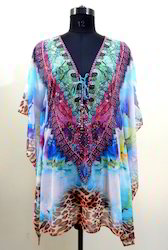 Silk Short Kaftan