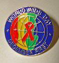 World Aids Day Lapel Pin