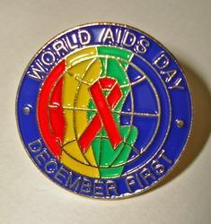 World Aids Day Lapel Pin