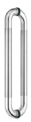 Glass Door Pull Handle - D Type