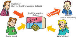 Call Forwarding Option Voice Mail Services
