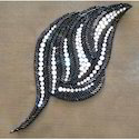 Designer Embroidered Brooch