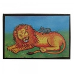 Play School Story Telling Material Lion And Mouse Story