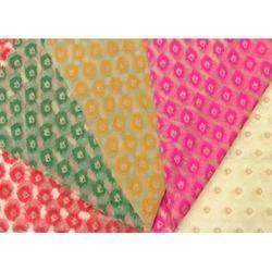 Banarasi Tissue Jacquard Fabric