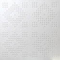 Square Semi Perforation Perforated Tiles