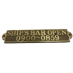 Clubs and Pubs Sign Plates