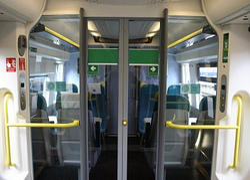 Railway Compartment 2D Designing