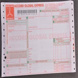 Barcoded Airway Bill Printing Service