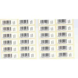EAN Barcode Label