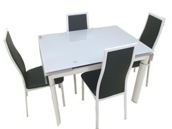 Folding 1+4  Dining Table Sets