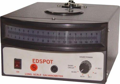 om edspot long scale galvanometer, ed spot galvanometer, forom edspot long scale galvanometer, ed spot galvanometer, for laboratory