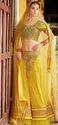Yellow Color Designr Lahenga