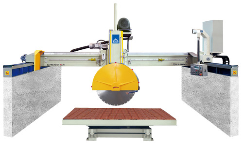 Block Cutter With Horizontal Blade