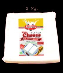 Agroha Fresh Block cheese 2Kg/Cheese Cottage