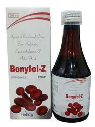 QCarbonyl Iron Zinc Sulphate Vit.B12 Folic Acid Syrup