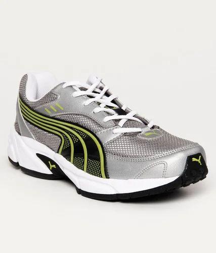 Puma Atom Silver \u0026 Black Running Shoes