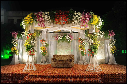 Juhi flower shop bhagalpur service provider of wedding pavilion read more wedding pavilion junglespirit Images