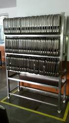 Plate Holding Rack
