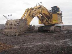 Mining Excavator Rental Services