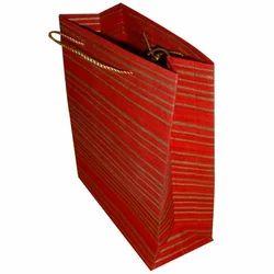 Red Handmade Paper Bag