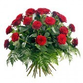 Twenty Five Red Roses Bunch