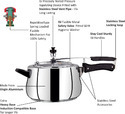 Induction Compatible Pressure Cooker