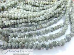 Rough Diamond Beads Necklace / Strands
