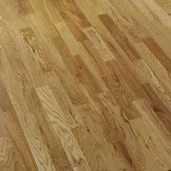 Brown Strip Wooden Flooring