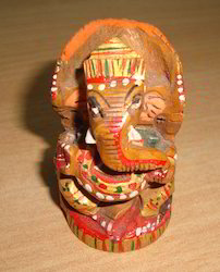 Handmade Wood Statue
