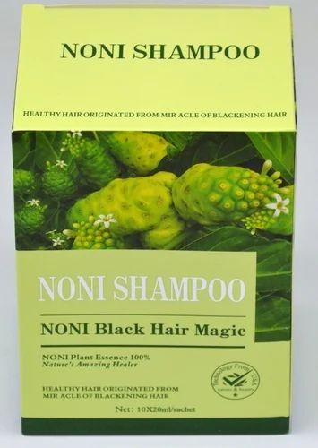 Women Noni Black Hair Magic Dye Shampoo