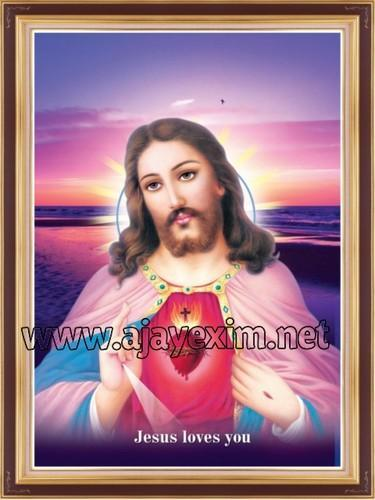 lord jesus christ poster at rs 750 carton posters id 9396134248