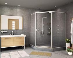 Bathroom Partition Glass Model glass partition in chandigarh, india - indiamart