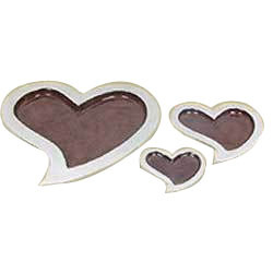 Aluminum Heart Shaped Trays