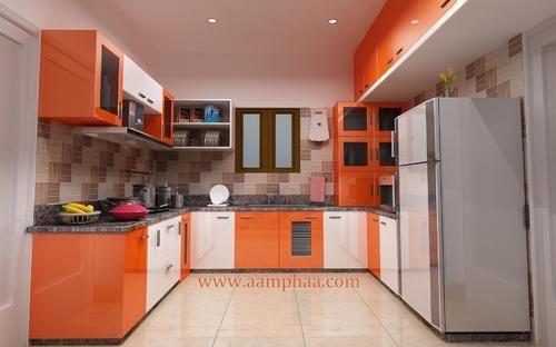 Orange Color Kitchen Decor Ideas