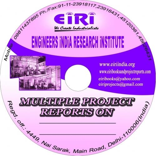 83 Export Oriented Unit 100 EOU EOU Projects Reports In CD
