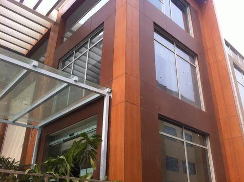 Bloomex Hpl Hpl Exterior Timber Facade Manufacturer From New Delhi