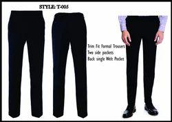 Plain Men''s Trousers, Size: S - 4xl
