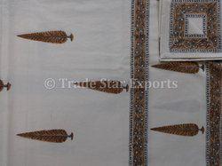 Hand Block Print Cotton Bedspread