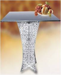 Brown Fiber Coffee Table