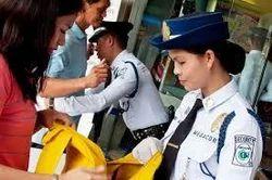 Lady Security Staff