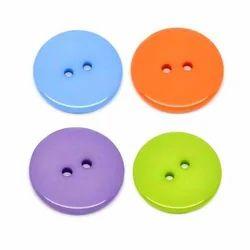 2 Hole Button