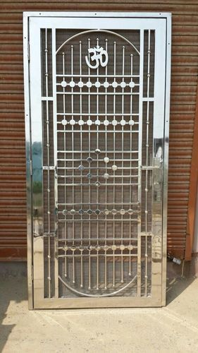 safety double door grill design images  | 382 x 573